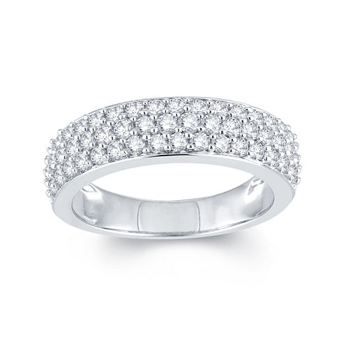 LIMITED QUANTITIES 1 CT. T.W. Diamond 10K White Gold Anniversary Ring