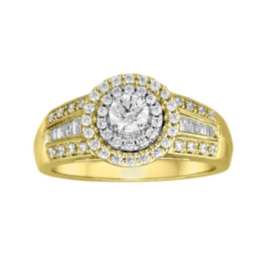 jcpenney.com | 3/4 CT. T.W. Diamond 10K Two-Tone Gold Ring