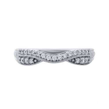 jcpenney.com | 1/4 CT. T.W. Diamond 10K White Gold Band Ring