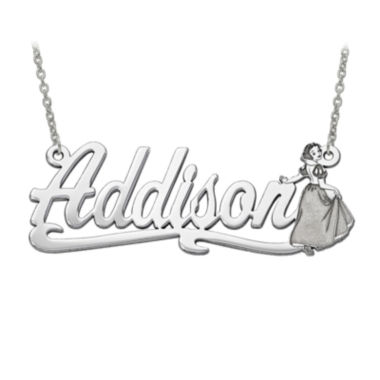 jcpenney.com | Disney Personalized Snow White 45x17mm Name Necklace