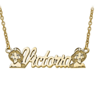 jcpenney.com | Disney Personalized Kids Jasmine Name Necklace