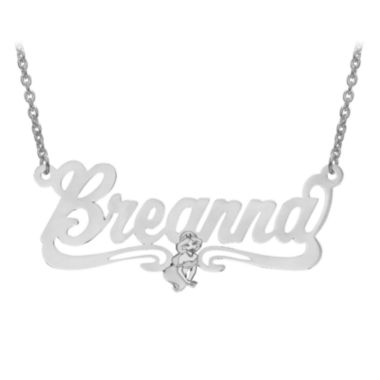 jcpenney.com | Disney Personalized Kids Jasmine 19x43mm Name Necklace