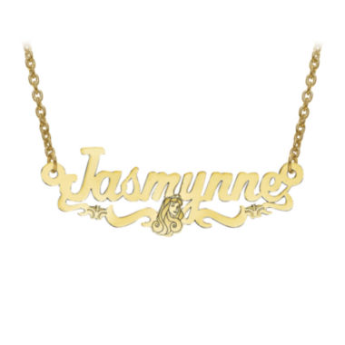 jcpenney.com | Disney Personalized Sleeping Beauty 14x36mm Name Necklace