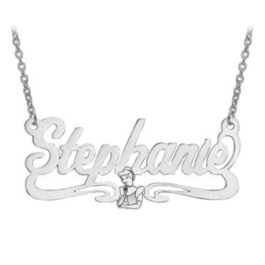 jcpenney.com | Disney Personalized Cinderella 18x39mm Name Necklace