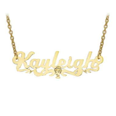 jcpenney.com | Disney Personalized Cinderella 11x36mm Name Necklace