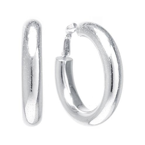 Sterling Silver 35MM Hoop Earrings