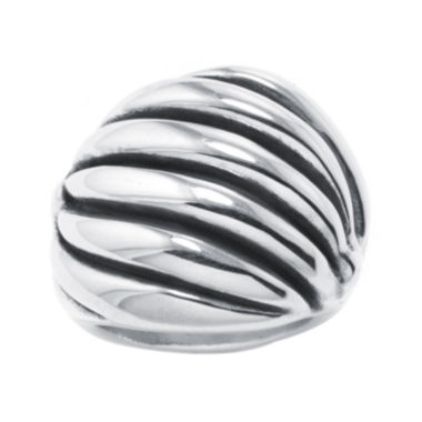 jcpenney.com | Sterling Silver Textured Wave Ring