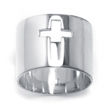 jcpenney.com | Sterling Silver Cutout Cross Ring