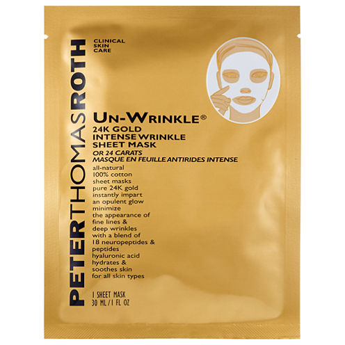 Peter Thomas Roth Un-Wrinkle™ 24k Gold Intense Wrinkle Sheet Mask