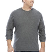 The Foundry Supply Co.™ Long-Sleeve Waffle Shirt - Big & Tall