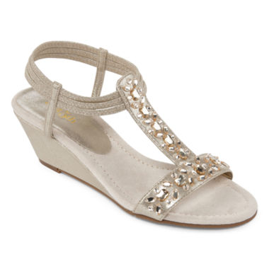 jcpenney.com | East 5th® Violetta Jeweled Strap Sandals