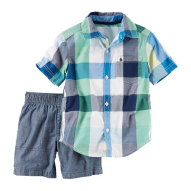 jcpenney.com | Carter's Boys Long Sleeve Pant Set-Toddler