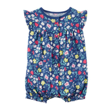 jcpenney.com | Carter'S Navy Floral Creeper -Baby