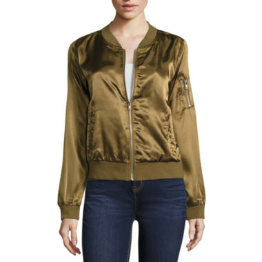 jcpenney.com | Almost Famous Bomber Jacket-Juniors
