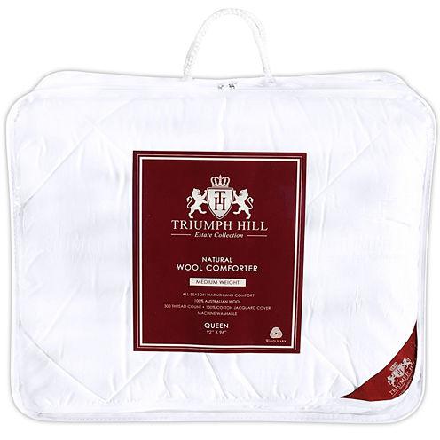 Triumph Hill 100% Australian Wool Jacquard Comforter