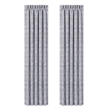 jcpenney.com | Queen Street Caprice 2-Pack Rod-Pocket Curtain Panel