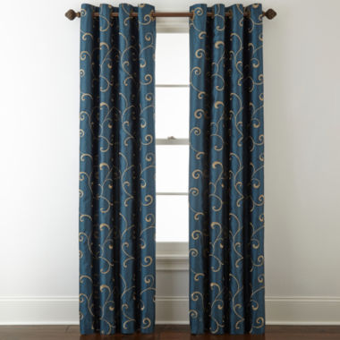 jcpenney.com | Royal Velvet® Plaza Embroidery Window Treatments