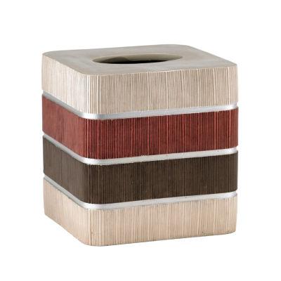 Popular Bath Modern Line Tissue Box Cover
