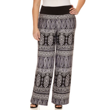 jcpenney.com | Alyx Knit Pull-On Pants-Plus