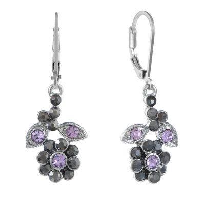 Monet Jewelry Monet Jewelry Purple Drop Earrings zG787