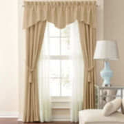 jcp home™ Supreme Antique Satin Window Treatments