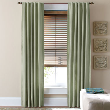 jcpenney.com | JCPenney Home™ Supreme Thermal Rod-Pocket/Back-Tab Curtain Panel