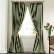 jcp home™ Supreme Thermal Pinch-Pleat Curtain Panel Pair