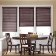 "JCPenney Home™ 1"" Basswood Horizontal Blinds"