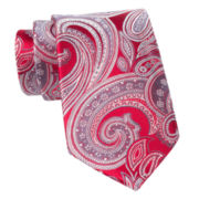 Stafford® Cash Paisley Silk Tie