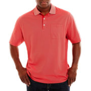 Van Heusen® Feeder–Striped Polo Shirt–Big & Tall