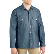 Dickies® Button-Up Chambray Shirt–Big & Tall