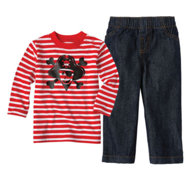 jcpenney.com | Baby Boy Okie Dokie Graphic Tee or Denim Pant