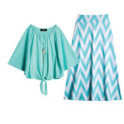 by&by Girl Necklace Top or Maxi Skirt – Girls 7-16