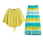 by&by Girl Necklace Sweater or Maxi Skirt – Girls 7-16