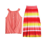 by&by Girl Bubble Top or Maxi Skirt – Girls 7-16
