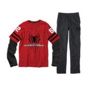 Spider-Man Long-Sleeve Tee or Zoo York® Fleece Pants – Boys 6-20