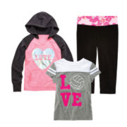 Xersion™ Hoodie, Tee or Yoga Capris – Girls 7-16 and Plus