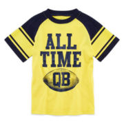 Okie Dokie® Short-Sleeve Graphic Sports Tee – Boys 4-7