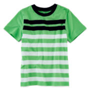 Okie Dokie® Short-Sleeve Striped Tee – Boys 4-7