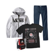 Graphic Tee, Vans® Fleece Hoodie or Dickies® Skinny Pants – Boys