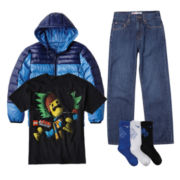 Graphic Tee, Levi's® Jeans, Nike® Socks or Collection B® Jacket – Boys 6-20
