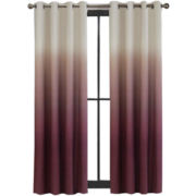Colordrift Mystic Ombré Grommet-Top Curtain Panel