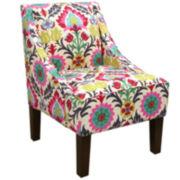 Paige Chair - Santa Maria Print