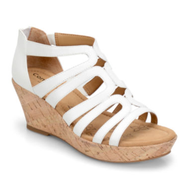 jcpenney.com | Comfortiva Redmond Strappy Wedge Sandals