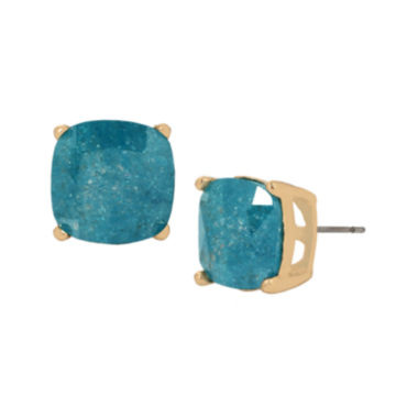 jcpenney.com | Bleu™ Blue Faceted Stud Earrings