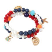 Bleu™ Starfish Charm Stretch Bracelet
