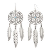 Arizona Silver-Tone Dream Catcher Earrings