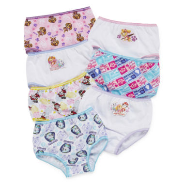jcpenney.com | Paw Patrol 7-pk Briefs - Toddler Girls 2t-4t