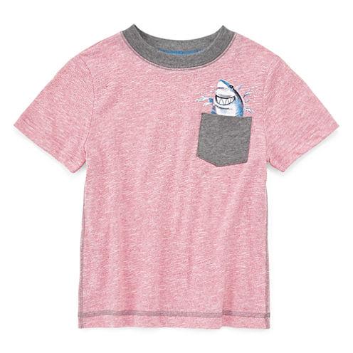 Arizona Short-Sleeve Graphic Pocket Tee - Preschool Boys 4-7
