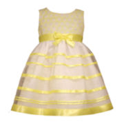 Bonnie Jean® Sleeveless Striped Dress - Toddler Girls 2t-4t